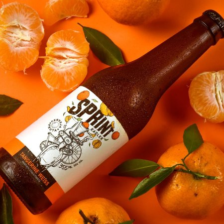 Sprint Tangerine Weiss (355 ml) - Caixa com 12 garrafas