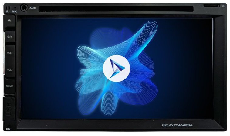 DVD Player Napoli DVD-TV7790 - TV - Bluetooth - USB / SD - AUX - 7.2 Polegadas
