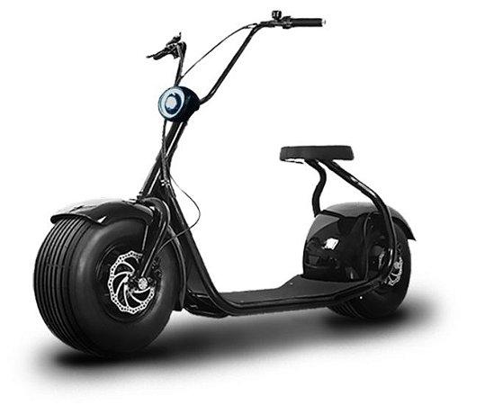Motocicleta Elétrica Loop Chopper - 1500W