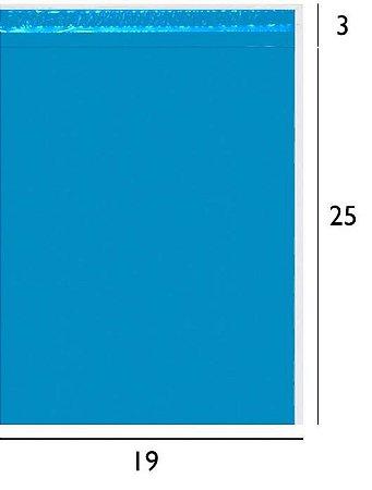 Envelope de Segurança Azul 19x25