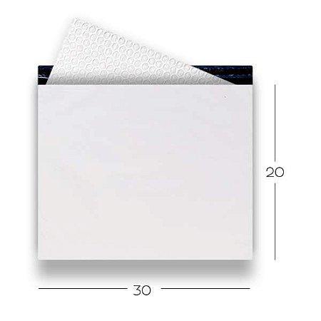 Envelope de Segurança com Plástico Bolha 30x20
