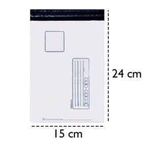 Envelope de Segurança Impresso para Correios 15x24