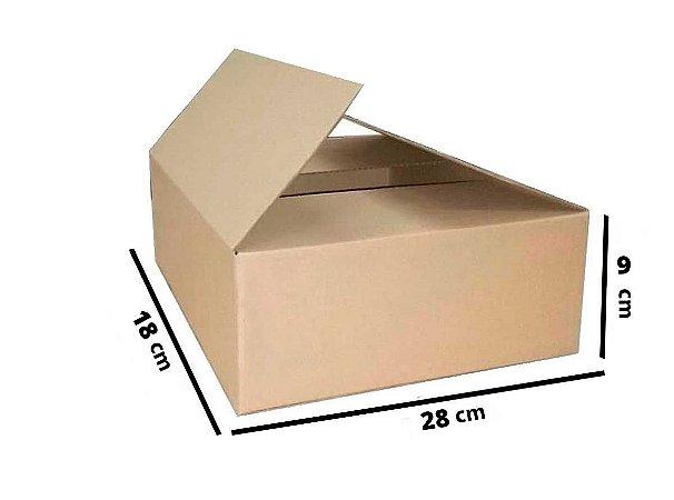 Caixa de Papelão Maleta Onda B Simples - N2 - 28 x 18 x 9