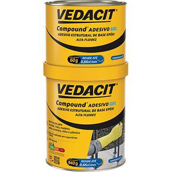 Compound Adesivo-  Gel, 1 Kg, VEDACIT