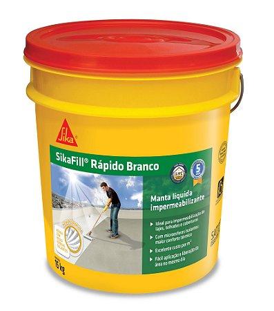 Sikafill Rápido Branco 15kg - Sika