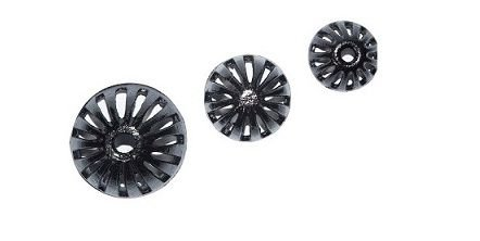 "Grelha semi-esférica - Ferro Fundido - 6""  150mm"