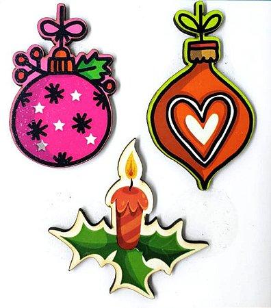 Aplique em MDF #58 - Natal