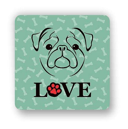 Porta Copo Magnético/Imã de Geladeira | LOVE DOG (3)