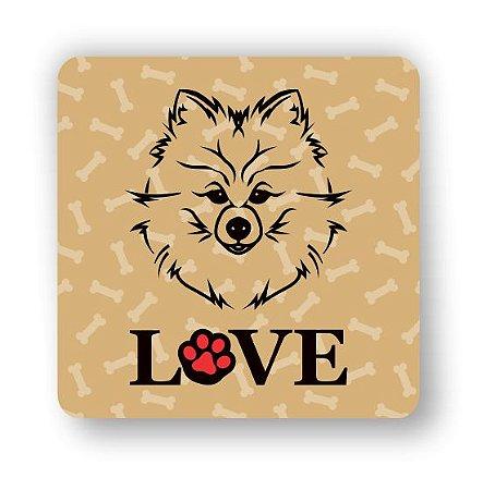 Porta Copo Magnético/Imã de Geladeira   LOVE DOG (6)