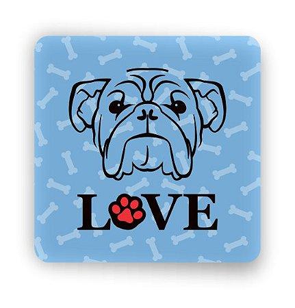 Porta Copo Magnético/Imã de Geladeira | LOVE DOG (11)