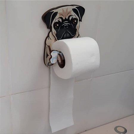 Porta Papel Higiênico | Pug
