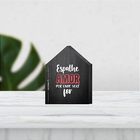 Casinha Box MDF Enfeite de Mesa | Espalhe amor por  onde você for