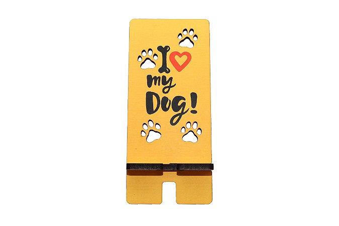 Porta Celular | I Love My Dog Patinhas