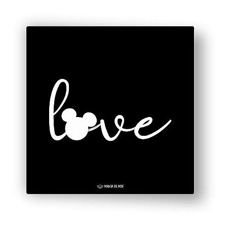 Quadro Decorativo em MDF | Love| Mouse