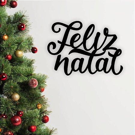 Letreiro de Parede em MDF | Natal | Feliz Natal