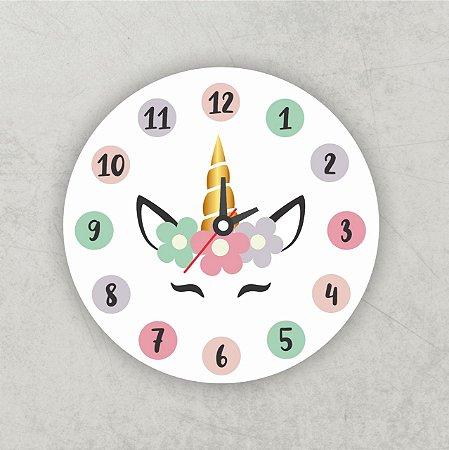 Relógio Infantil   Unicórnio