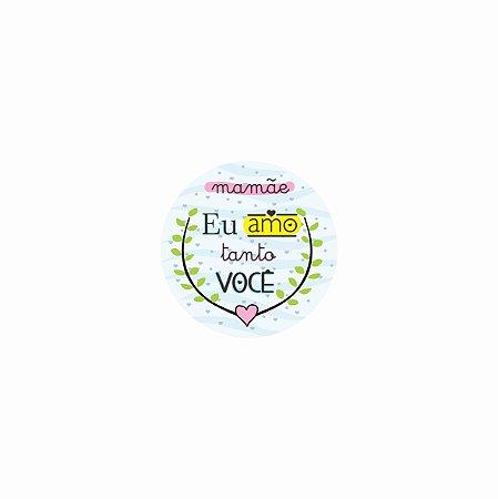 Porta Copo Magnético/Imã de Geladeira| MAMÃE