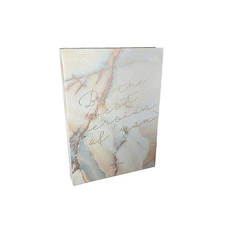 Livro Caixa - Marmorizado/Colorido
