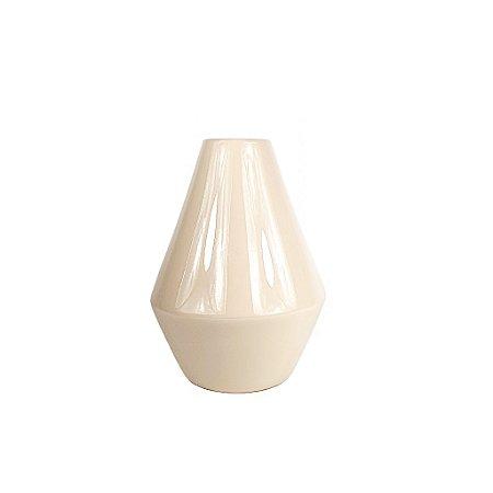 Vaso de Cerâmica - Bege