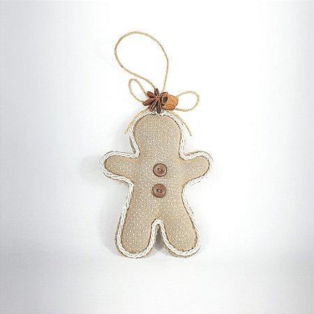 Boneco Ginger Decorativo