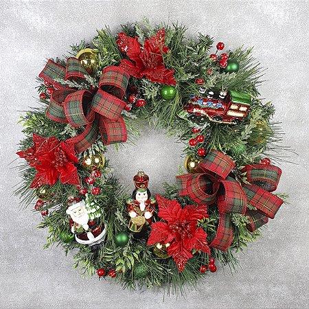 Guirlanda de Natal - Festão/Magia de Natal