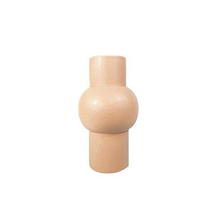 Vaso de Cerâmica - Tubo/Pessêgo