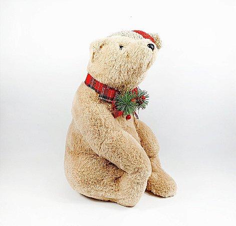 Urso de Pelúcia - Caramelo de Touca
