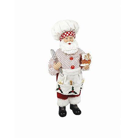 Papai Noel de Resina - Cozinheiro