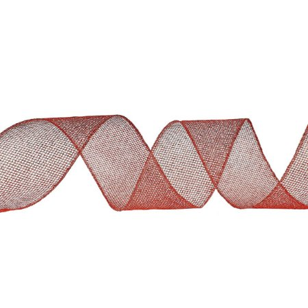 Fita Aramada Vermelha - Vazada/Glitter