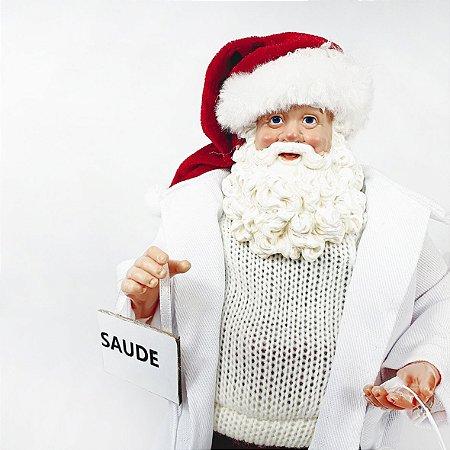 Papai Noel Decorativo - Médico - 27,5cm