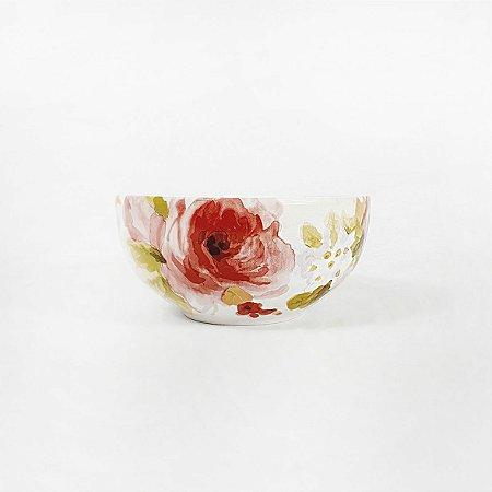 Tigela de Cerâmica - Flores