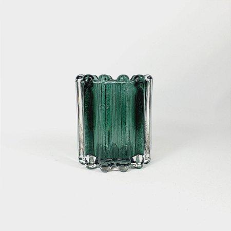 Vaso Decorativo - Verde - 10cm