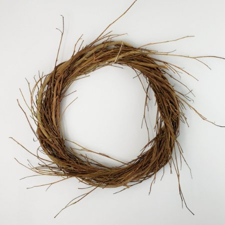 Aro Guirlanda de galhos - 25cm