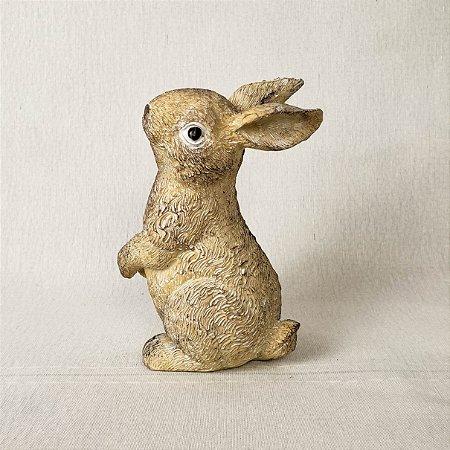 Coelhinho de resina - 15cm