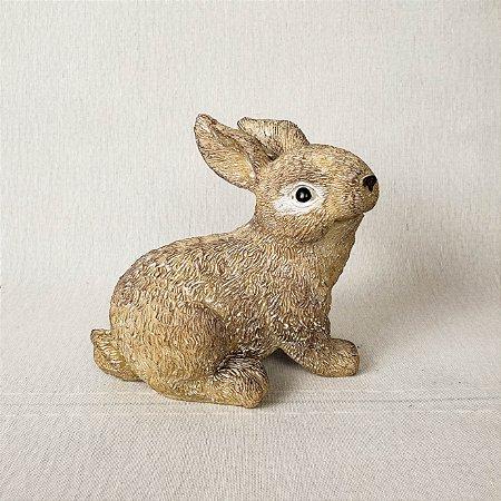 Coelhinho de resina - 12cm