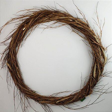 Aro Guirlanda de galhos - 60cm