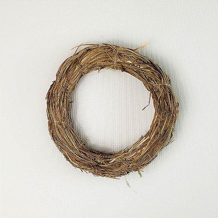 Aro - Guirlanda de palha 15cm