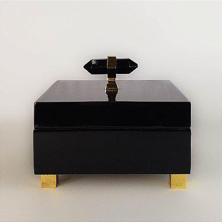 Porta-jóias - All Black - 15cm