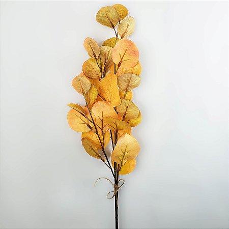 Haste de Eucalipto - amarelo - 75cm