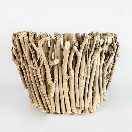 Cachepot de Gravetos - 18cm