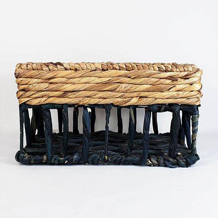 Cesta de Fibra de Águape - 16cm