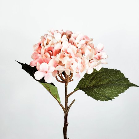 Haste de Hortênsia Rosa Outonal - 54cm