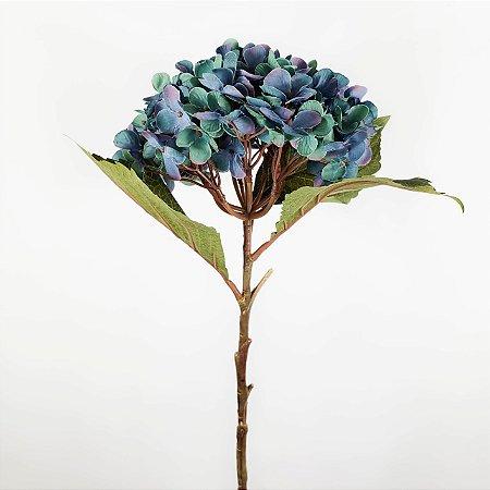 Hortênsia Outonal Azul - 54cm