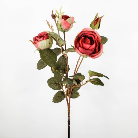 Haste de Rosa Marsala - 62cm