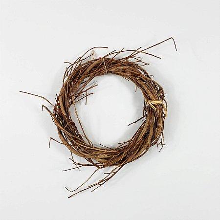 Aro Guirlanda de Galhos - 15cm