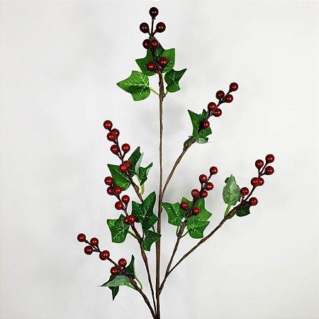 Galho Natalino Cherry - 72cm