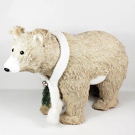Urso Natalino em Pé - 40cmx60cm