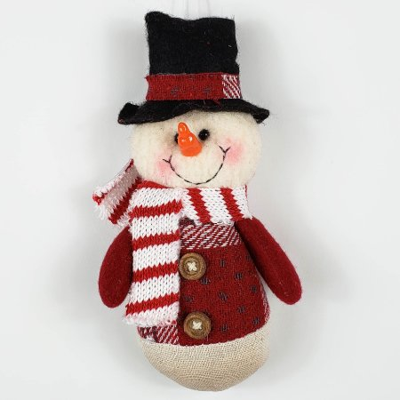 Adorno Boneco de Neve - 20cm