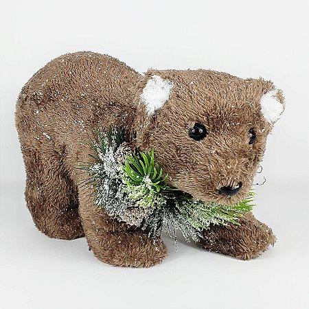 Urso Marrom - 16cmx28cm
