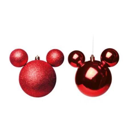 Caixa c/ 2 Bolas Disney Vermelha